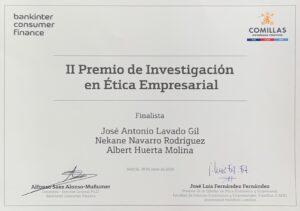 Diploma Ètica Universidad Comillas